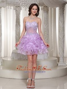 Buy lilac beaded prom cocktail dress with pick ups and appliques from fairy cocktail dresses collection, sweetheart neckline short in lavender color,cheap mini length dress with zipper back and for prom cocktail party homecoming . Wholesale Prom Dresses, Discount Prom Dresses, Prom Dresses For Sale, Beautiful Prom Dresses, Prom Dresses Online, Short Strapless Prom Dresses, Glitz Pageant Dresses, Prom Dress 2013, Ball Gowns Prom