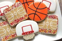 basketball cookies                                                                                                                                                      Más