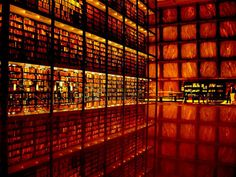 Beinecke Library, Yale university. This is what I think looks like in my head (minus the vast knowledge and rare items) when reading references for essays the day before it is due. slowly burning away.