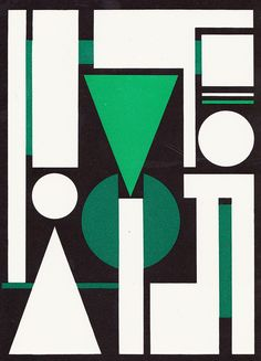 "Auguste Herbin Composition sur le mot ""Non"", 1951 jpg Graphic Design Poster Geometric Artists, Geometric Shapes Art, Hard Edge Painting, Action Painting, Mondrian, Graphic Design Illustration, Illustration Art, Art Zine, Bauhaus Art"