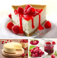 Raspberry Vegan Cheesecake #cheesecake