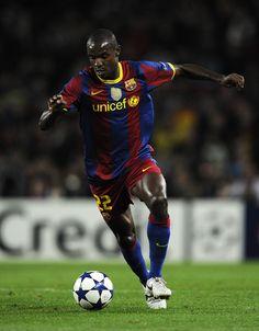 Éric Abidal, defender, FC Barcelona