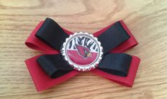 AZ Cardinals Bottlecap Bow by SandysStyles on Etsy, $4.00 Arizona Cardinals, Party Ideas, Bows, My Love, Red, Etsy, Bowties, Bow, Ideas Party