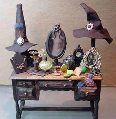 A Witch's Dresser