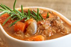 This stew is an inexpensive option where beef is braised in wine, vegetables and herbes de Provence. Cooking is often done a day before to allow the flavors to fully bloom.Follow Talk in French for more.