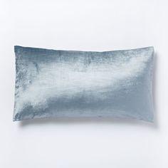 Washed Cotton Lustre Velvet King Pillowcases
