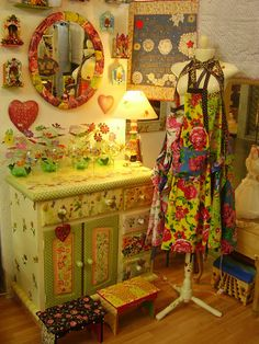 decoupage furniture and decor