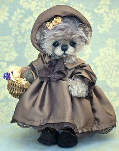 Miss Daintee Dinah / Three O'Clock Bears..ALL DRESSED UP HOPE YOU HAVE A PLACE TO GO