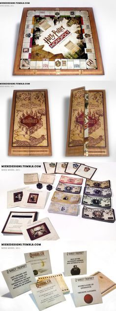 11 Best Harry Potter Monopoly images in 2017 | Harry potter gifts