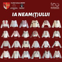 Folk Embroidery, Traditional Dresses, Romania, Costumes, Sewing, Folklore, Embroidery, Knits, Dressmaking