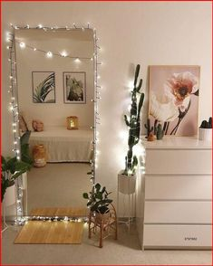 Cute Bedroom Decor, Room Ideas Bedroom, Small Room Bedroom, Tiny Bedrooms, Bed Room, Modern Bedroom, Mirror For Bedroom, Couple Bedroom, Cheap Bedroom Ideas