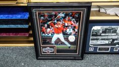 #busterposey #signedball #custompictureframing #lntframing #pictureframing #customframing #bayarea #sfbayarea