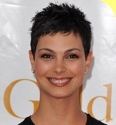 Short Spiked Pixie Black Hairstyles
