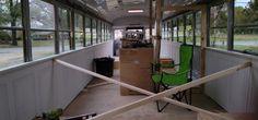 Building skoolie without wood frame