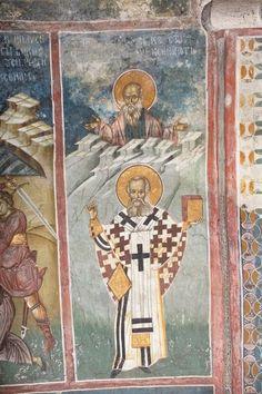 BLAGO | БЛАГО : Дечани : 25 и 26. јануар - Св. Григорије Богослов (фигура), св. Ксенофонт (попрсје)