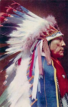 インディアン(ネイティブ・アメリカン)の貴重なカラー化写真 (3)