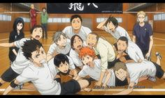 Looks like some of them slid in there last second. Nishinoya