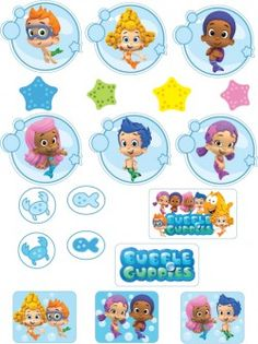 {Free} Printable Bubble Guppies Stickers
