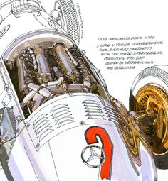 Peter Hutton-That DeDion axle was fed power through a 5-speed transmission, which, along with the engine, was offset to allow the driveshaft to travel directly to the left of the driver. This feature enabled the distinctly low chassis and sleek body while dropping the car's center of gravity nearer the pavement. The driveline's tight packaging was in keeping with the car's precise manner.