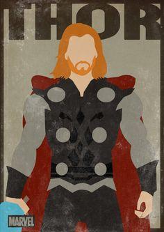 Inspiração posters retrô – Heróis #5 - De volta ao retrô