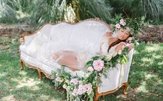 Whimsical Vintage Styled Bridal Boudoir - Fab You Bliss Boudoir Book, Bridal Boudoir, Photo Zone, Prom Poses, Romantic Flowers, Bridal Photography, Photo Booth, Wedding Details, Backdrops