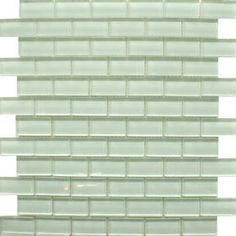 Clear White Tiles Glass Brick Mosaic Mosaic Tiles 325x325x8mm from Walls and Floors - Leading Tile Specialists - Over 20 Million Tiles In St... £69 m2