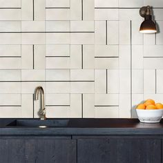 The Alalpardo's endless tessellations allow you to create symmetrical black and white checkered floor patterns or a completely random wall or floor surface. Room Tiles, Kitchen Tiles, Bert And May Tiles, Black And White Tiles, Black White, Outdoor Tiles, Geometric Tiles, Tiles Texture, Handmade Tiles