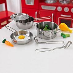 Deluxe Cookware Set by KidKraft