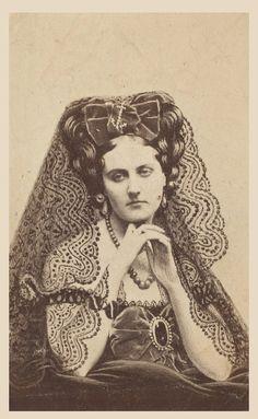 Countess de Castiglione as 'La Dogaresse'.