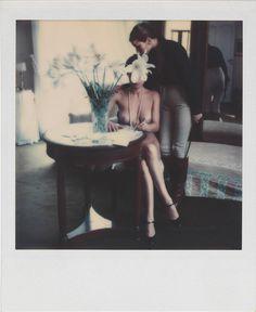 Helmut Newton, Untitled, 1976, Polaroid SX-70 © Helmut Newton Estate