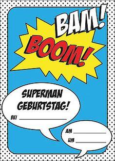 superhelden einladung text zum ausdrucken superhelden geburtstag pinterest geburtstag. Black Bedroom Furniture Sets. Home Design Ideas