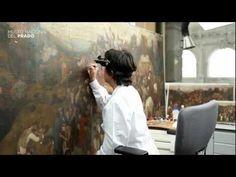 ▶ Restauración de la obra El vino de la fiesta de San Martín de Bruegel el Viejo - YouTube