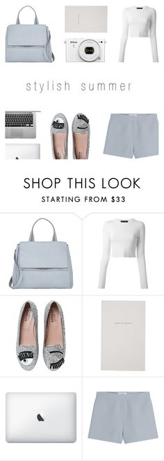 """""""Styles Summer - 16"""" by rachaelselina ❤ liked on Polyvore featuring Givenchy, Proenza Schouler, Chiara Ferragni, Kate Spade and Valentino"""