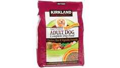 Here's an evidence-based review of Kirkland dog food. The brand scored 80/100 points for a good B rating. #dogs #dogfood  http://nextgendog.com/kirkland-dog-food-review-dry/