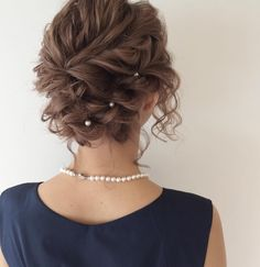 82 fantastic hairstyle tutorials for naturally curly hair - Hairstyles Trends Up Dos For Medium Hair, Medium Hair Styles, Curly Hair Styles, Curly Updos For Medium Hair, Bride Hairstyles, Easy Hairstyles, Dance Hairstyles, Mother Of The Bride Hair, Hair Arrange