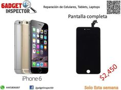 Pantalla Iphone 6 en $2, 450