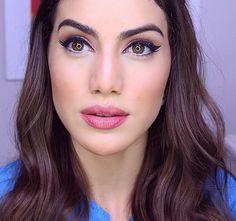 My current Go-To makeup look!  Watch the tutorial now on my English Channel! ( http://www.youtube.com/makeupbycamila2 ) ---------- Tutorial completo da minha maquiagem favorita do momento lá no Blog! Quem já viu?!  by camilacoelho