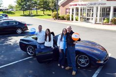 Scott Fontaine is a lucky man. He took out a CAP COM Auto Loan in June to buy a convertible Corvette and was later picked as the winner of a Credit Union sweepstakes for a trip to Atlantis Paradise Island in the Bahamas. He was automatically entered for a chance to win by applying for the loan. Now, Scott, his girlfriend and two friends are ready to take their CAP COM beach balls to a Bahamas beach later this year.