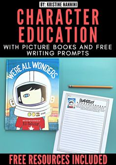 Click through to find some of my favorite picture books to teach character ed. Also, you can download my FREE writing prompts that help students reflect on these stories. I also have a digital option for 100% paperless written responses. Great for social emotional learning in 2nd, 3rd, 4th, and 5th grade. {character education ideas for Year 2, 3, 4, and 5. #SEL #CharacterEd #GoogleClassroom #DistanceLearning Paragraph Writing, Writing A Book, Opinion Writing, Persuasive Writing, 4th Grade Classroom, Middle School Classroom, Book Prompts, Writing Prompts, Writing Rubrics