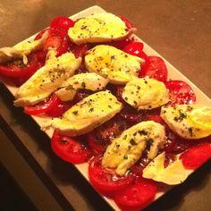 """Les tomates mozza de Binoche """"attention""""!!"""