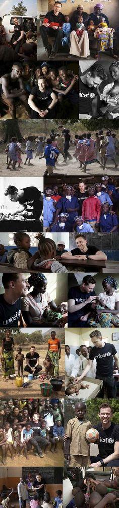 Tom Is A Junior Ambassador For UNICEF UK