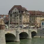 Charming bridge in #Basel #Switzerland