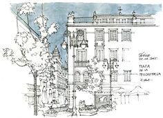 https://flic.kr/p/svx7Pf | Séville, plaza de la Pescaderia