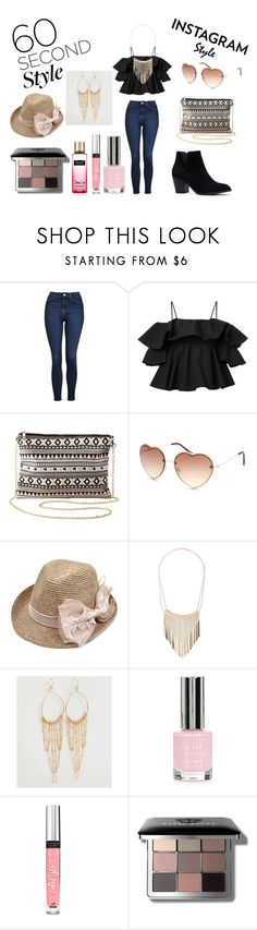 """60-Second Style: Insta-Ready"" by holly32196-1 on Polyvore featuring Topshop, MSGM, Charlotte Russe, Full Tilt, BKE, Victoria's Secret, Bobbi Brown Cosmetics, 60secondstyle and PVShareYourStyle"