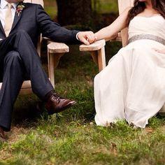 Back yard weddings.