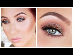 "Antique Bronze Smokey Eye Makeup Tutorial - YouTube ~ using Kathleen Light's ""Where the Light Is"" palette by ColorPop"