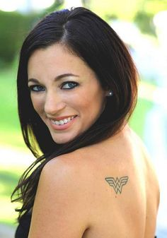 wonder woman tattoos -