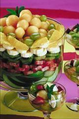 Layered Fruit Salad hearty pics and photos