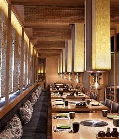 Matsumoto Restaurant | Japanese Restaurant Interior Architecture & Design