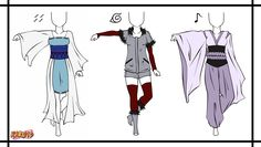 Naruto Adoptable Outfit Set 3 - Closed by Orangenbluete on deviantART